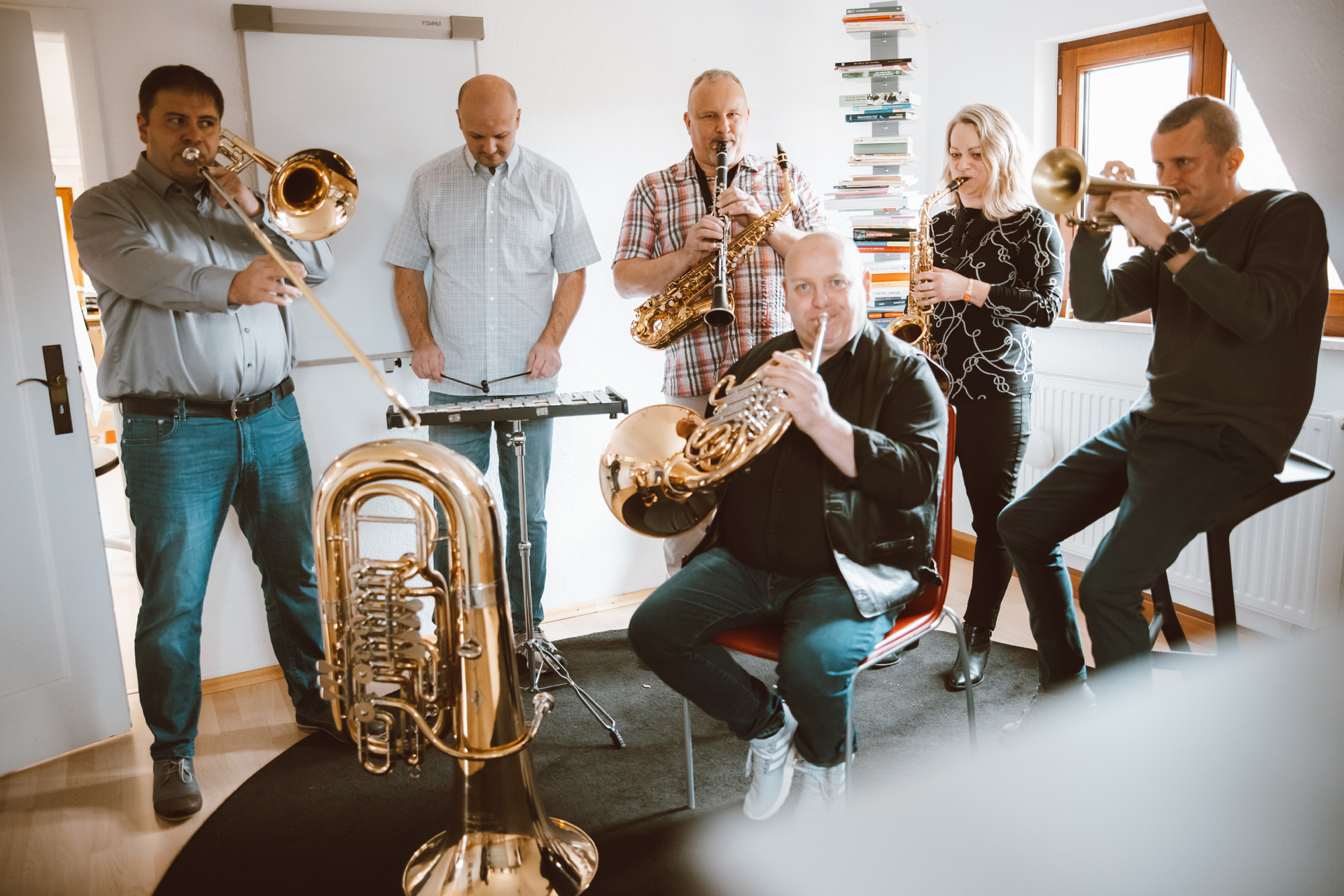 die Lehrer der Musikschule Gutgsell